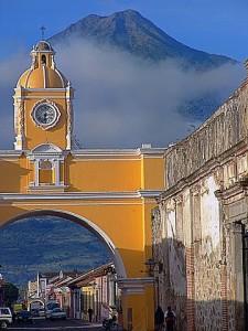Antigua Arch low
